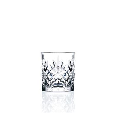 義大利RCR梅洛迪無鉛水晶威士忌酒杯(6入)230cc