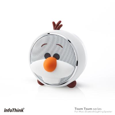 InfoThink TSUM TSUM玩音樂藍牙燈光喇叭-雪寶 Olaf
