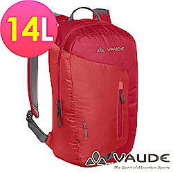 【ATUNAS 歐都納】德國VAUDE-14L輕量旅行休閒背包VA-12069紅15