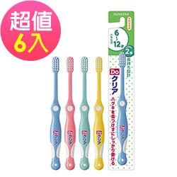 日本三詩達 巧虎牙刷 (6-12歲) 6入組