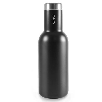 Driver時尚冷熱兩用保溫瓶580ml-黑色