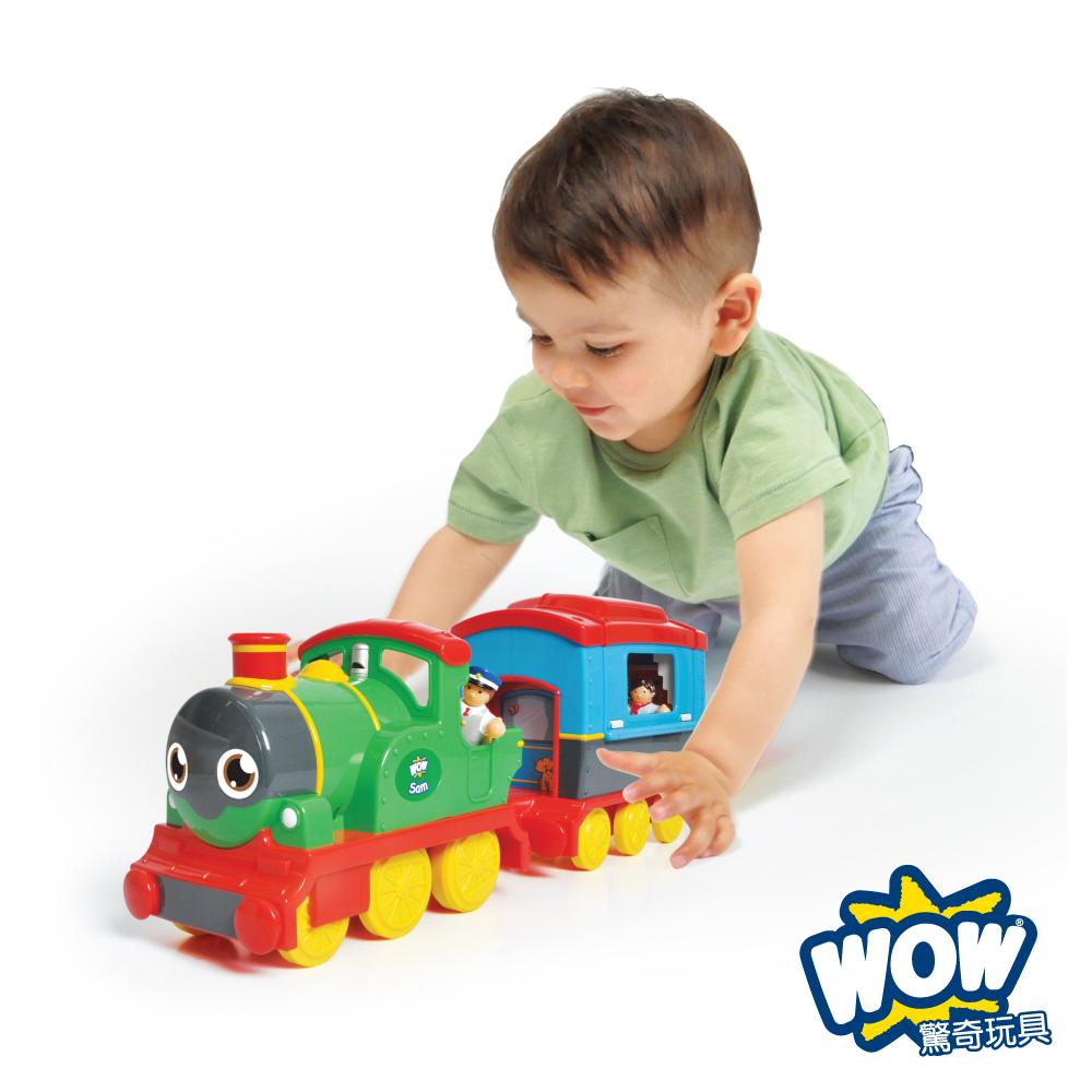【WOW Toys 驚奇玩具】蒸汽火車 山姆