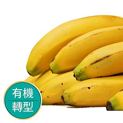【果物配】香蕉.有機驗證(扎實軟Q甜而不膩/3公斤)