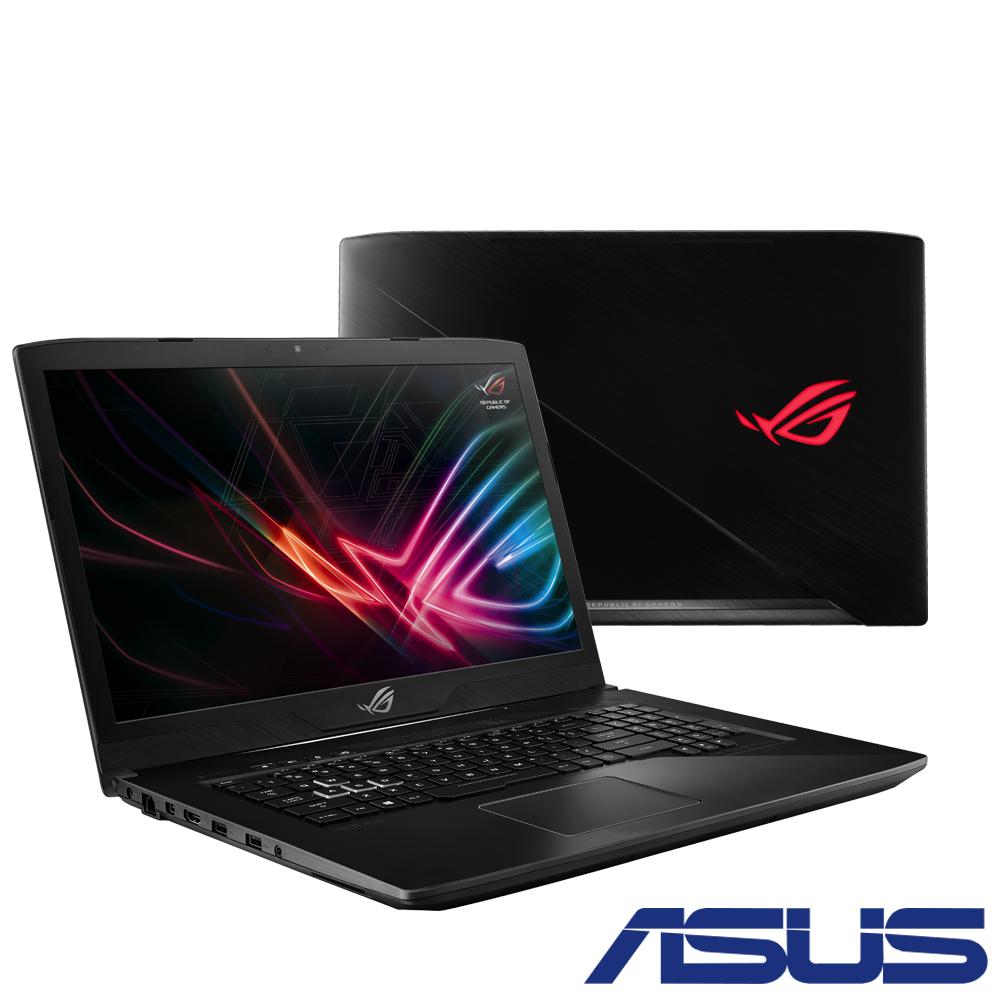 ASUS GL703GE 17吋電競筆電(i7-8750H/GTX1050Ti/8G