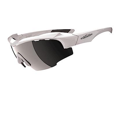 【ADHOC】運動太陽眼鏡-鍍膜鏡片-半框式K-NIGHT