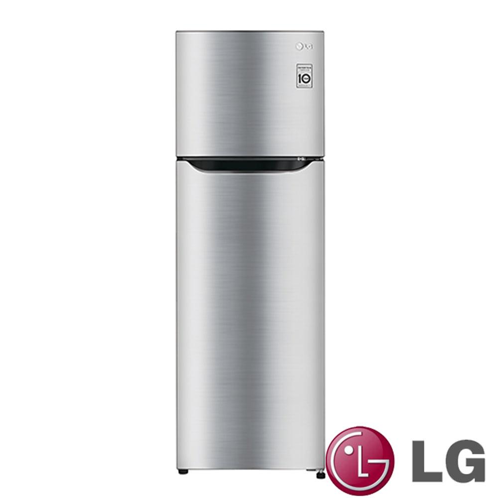 樂金LG 208公升Smart 變頻上下門冰箱GN-L295SV