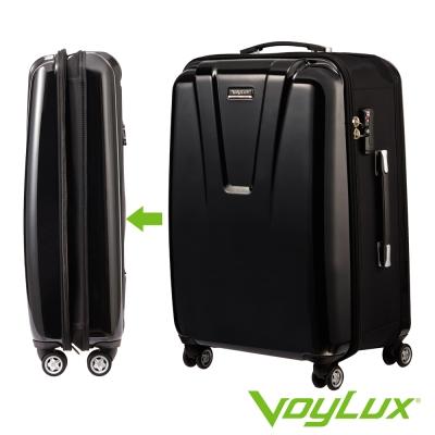 VoyLux伯勒仕-VIP系列 26吋硬殼收摺專利八輪摺疊行李箱-黑色3889604