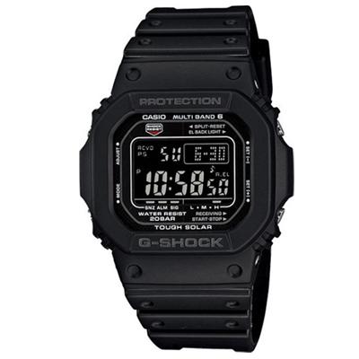 G-SHOCK 經典款原型5600進化版電波錶(GW-M5610-1B)-黑面膠帶版/30mm