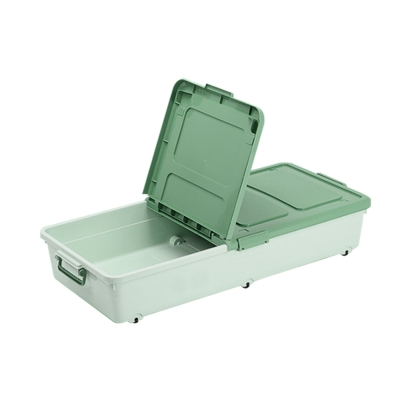Amos-床底收納箱46x94x18-50L(8入)