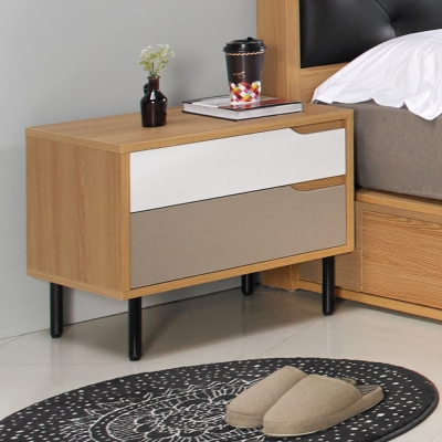 Homelike 米亞床頭櫃 55x40x45cm