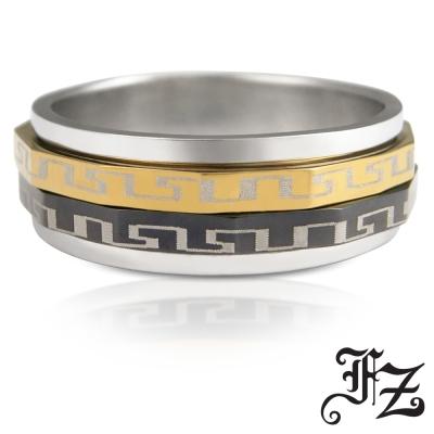 FZ  真愛密碼白鋼戒指(戒圍可選)