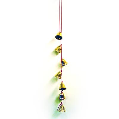 開運陶源  【催財銅鐘/銅鈴】  7 個銅製風鈴吊飾