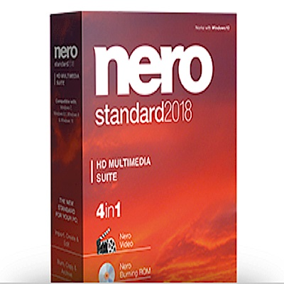 Nero 2018 四合一  標準版