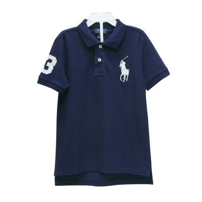Ralph Lauren 男童數字3經典大馬短袖POLO衫