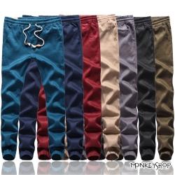 小猴子的賣場 韓版潮流百搭抽繩束口休閒慢跑褲JOGGER PANTS-7色