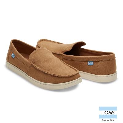 TOMS 麻布休閒鞋-男款