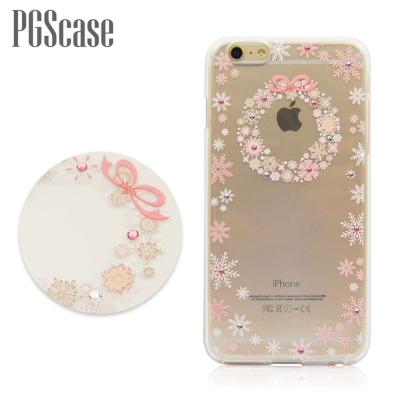 PGS APPLE iPhone6/iPhone6s 奧地利彩鑽手機殼-雪花圈