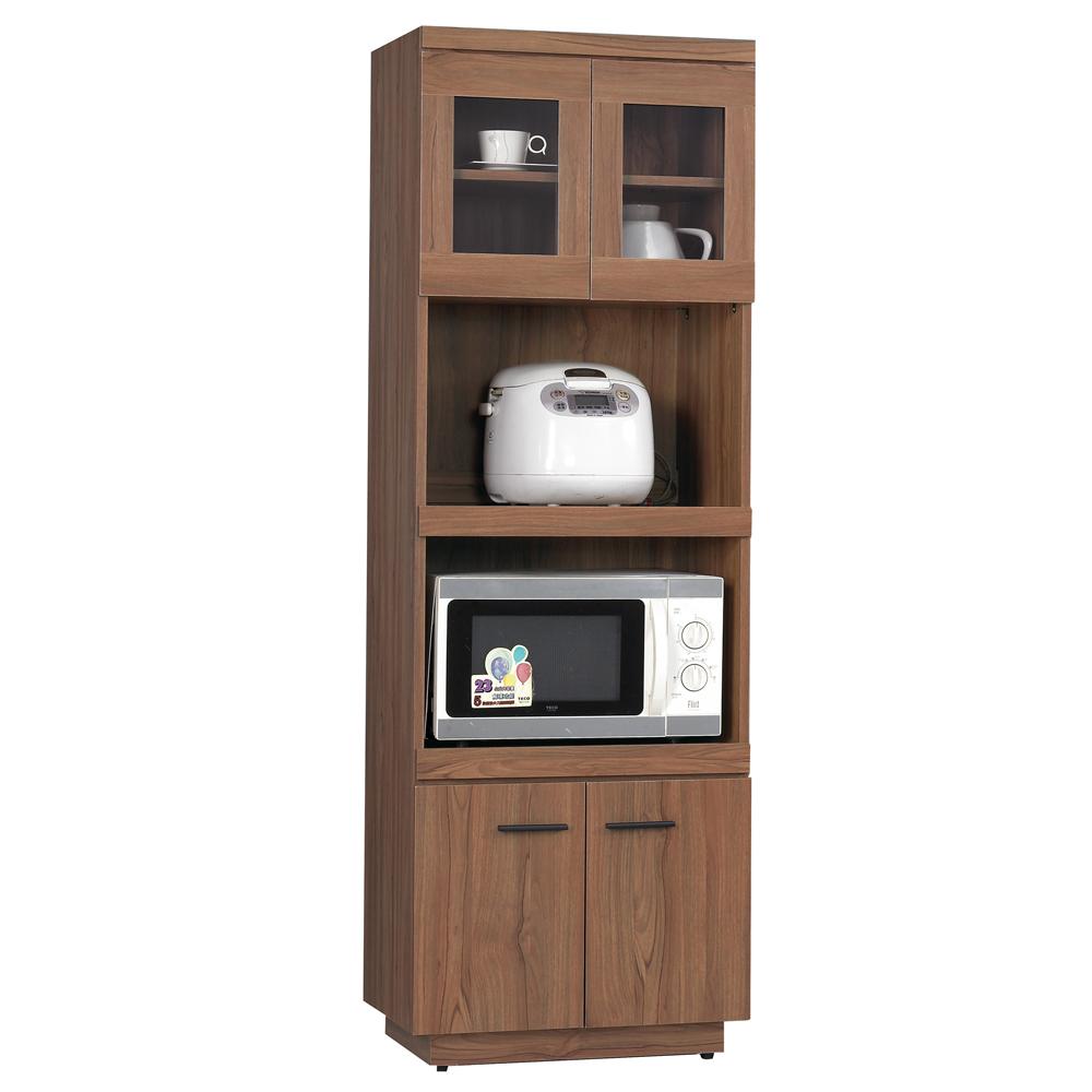 愛比家具 堤比2x6尺柚木色餐櫃