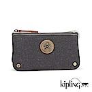 Kipling Edgeland系列 仿舊藍黑撞色零錢包-小