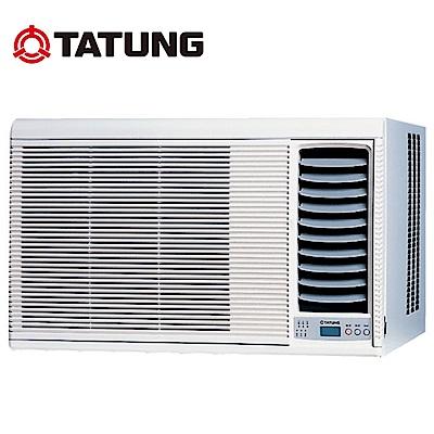 【TATUNG 大同】4-6坪超靜音高效率窗型冷氣 TW-362DCN