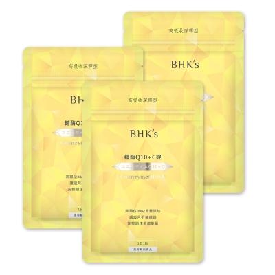 BHK's—輔(酉每)Q10+C錠(30顆/包)3包組