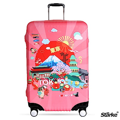 Starke 26-29吋高彈性行李箱套 -熱鬧東京