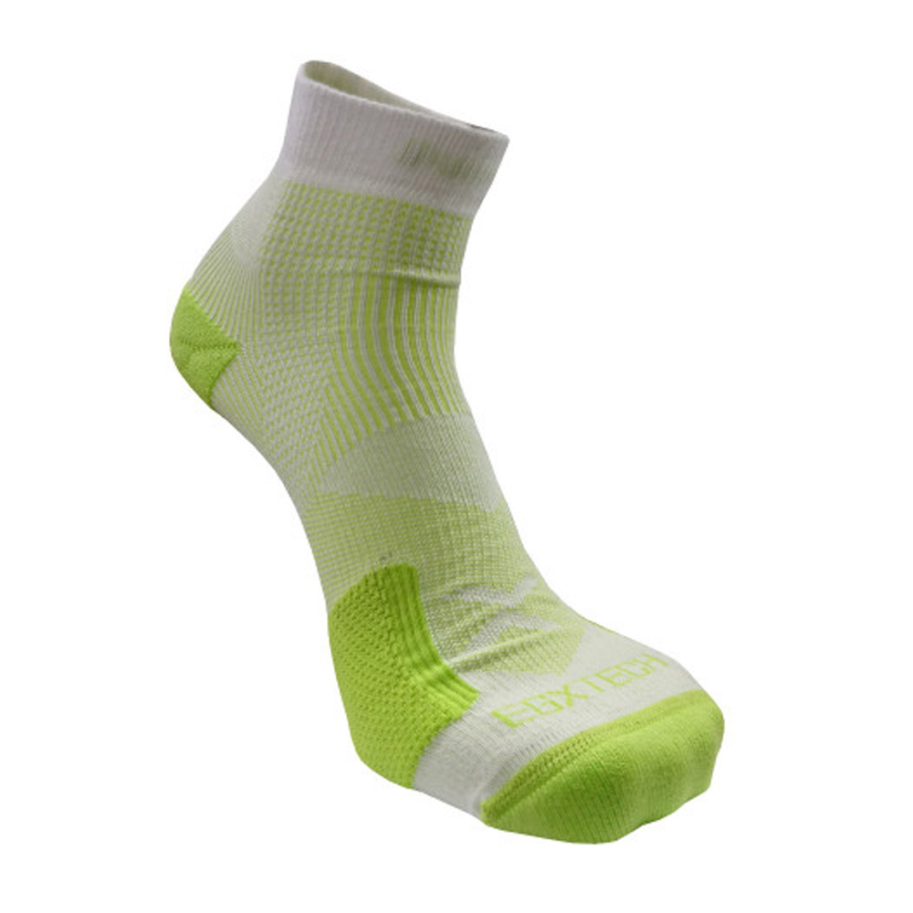 EGXtech P82L 側向保護8字繃運動襪(白/綠)(2雙入)