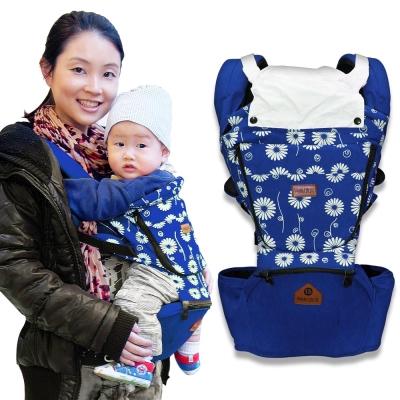 LOG樂格-Ubela多功能嬰兒腰凳揹帶-天藍款