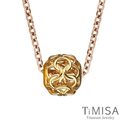 TiMISA 結好緣 金 純鈦項鍊(雙色可選)