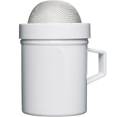 KitchenCraft 細網糖篩罐(白)