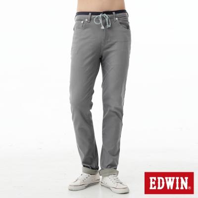 EDWIN 大尺碼AB褲 迦績褲JERSEYS涼感色褲-男-淺灰