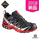 Salomon 登山 野跑鞋 GORETEX防水 男 XA PRO 3D黑紅
