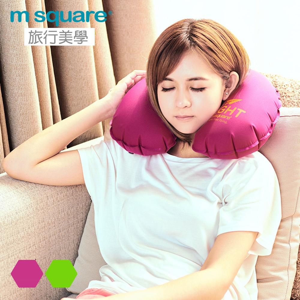 M Square輕遊系列充氣頸枕 男用