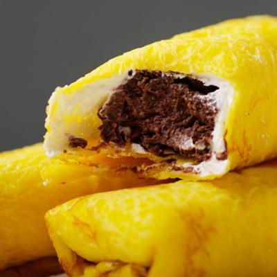 艾葛蛋捲狂人 布蕾蛋捲巧克力(8入/盒)