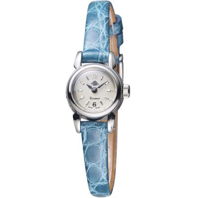 Rosemont 玫瑰錶 骨董風玫瑰XI時尚腕錶-藍/17mm