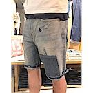牛仔短褲 男裝 502 中腰錐形褲 - Levis