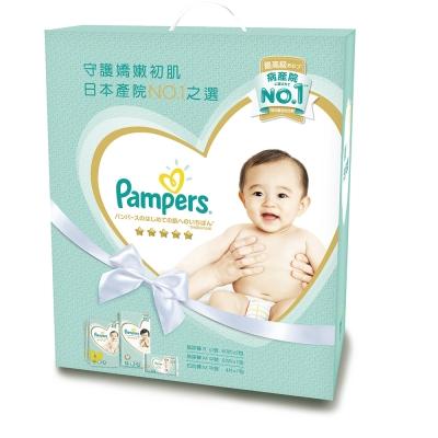 幫寶適 一級幫尿布玩具盒裝 S60片x2 M52片x1 拉拉褲M4片