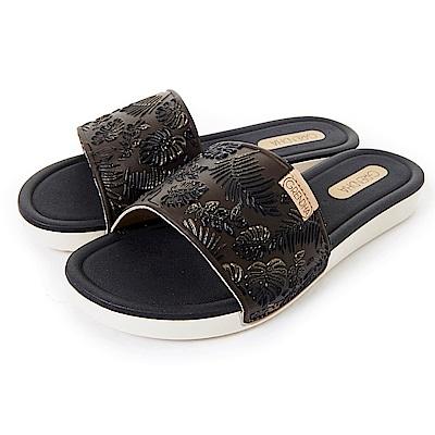 GRENDHA 典雅歐風印象休閒鞋-黑色