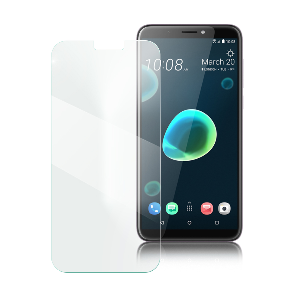 Xmart for HTC Desire 12+ 薄型 9H 玻璃保護貼-非滿版
