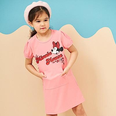 Disney 米妮系列夏日花園口袋洋裝 (2色可選)
