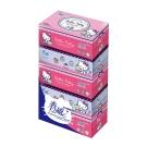 春風盒裝面紙 150抽x5包/串-Hello Kitty點心風