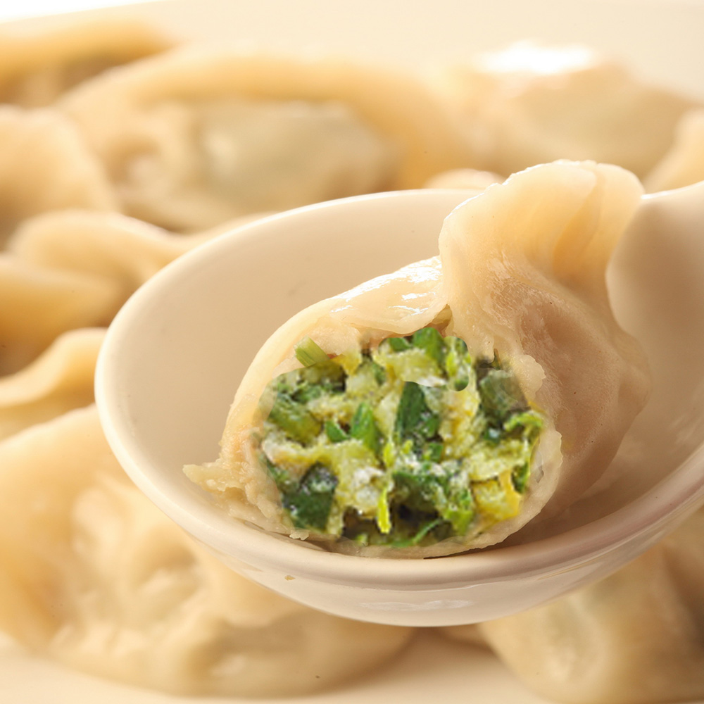 【張家大廚】家傳手工韭菜豬肉水餃(250粒)