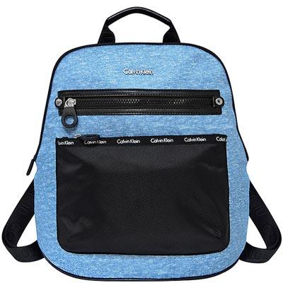 Calvin Klein 藍色尼龍後背包