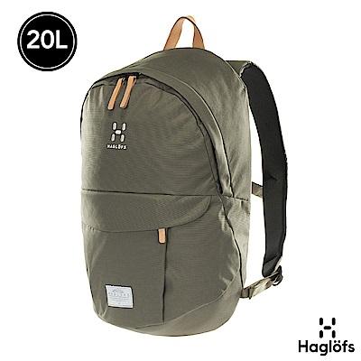 Haglofs Sarna 20L 防潑水 13吋筆電後背包 聖人綠色