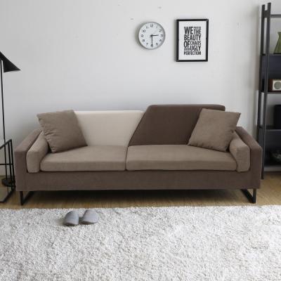 H&D 珈門寬敞舒適三人沙發-多色選