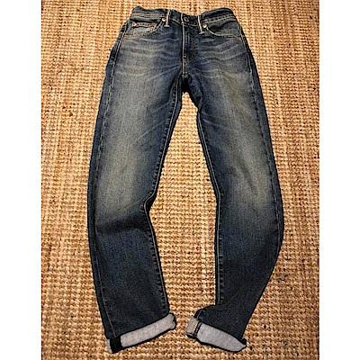 Levis 男款 511低腰修身窄管牛仔長褲 WarmJeans保暖丹寧