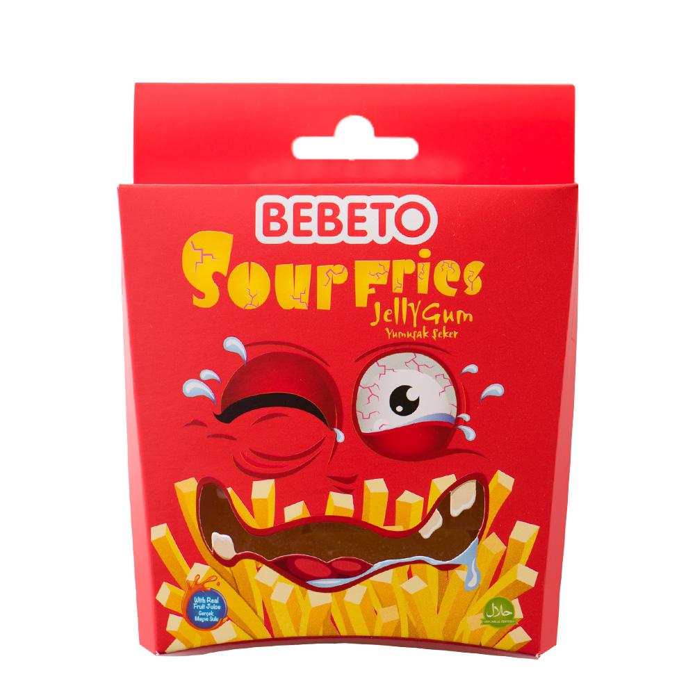 貝貝托 薯條造型酸條糖(55g)
