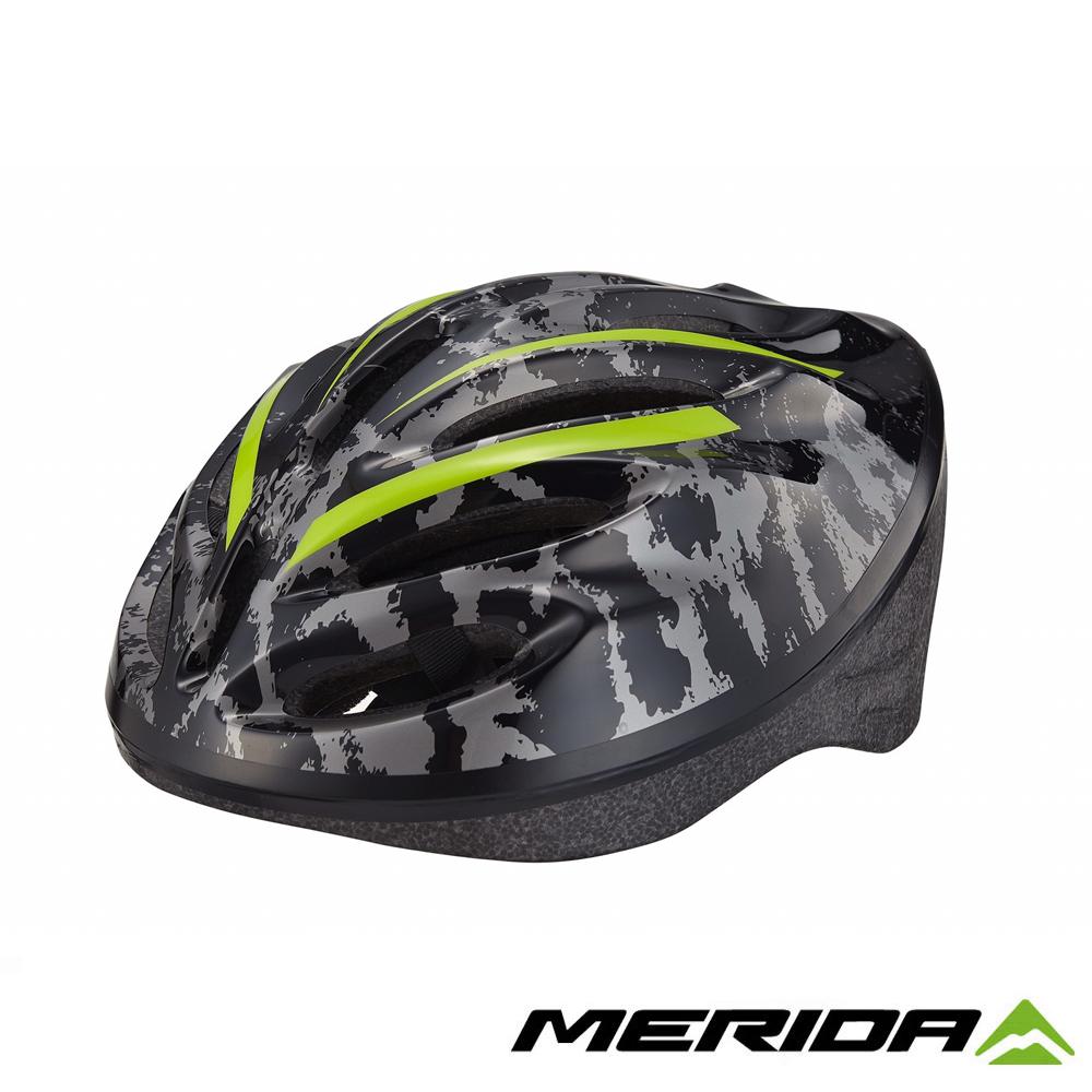 《MERIDA》美利達 MV-15通勤安全帽 黑/綠 58~61cm 2277007624
