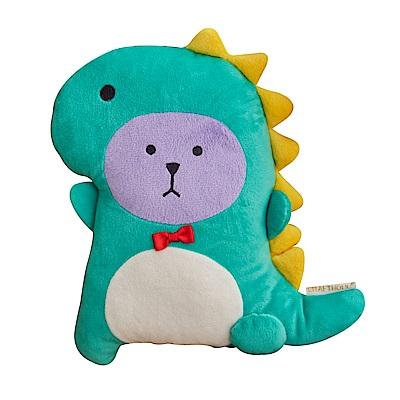 CRAFTHOLIC 宇宙人 恐龍熊造型抱枕