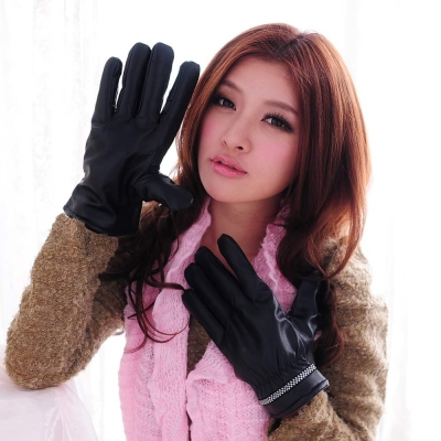 Aimee-Toff-穩重率性保暖時尚男款手套-千島
